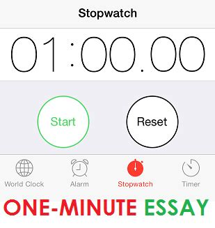 How to write an essay in 25 minutes